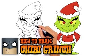 How to Draw Grinch | Holiday Drawing Lesson