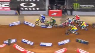 250SX Main Event Highlights - Arlington