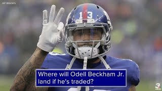 Cleveland Browns listed as betting favorite to land Odell Beckham Jr. if he's traded