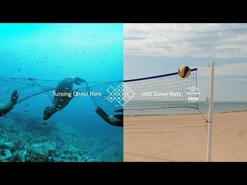 FIVB x Ghost Fishing  - The Good Net Project