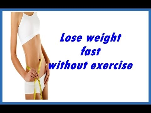 How To Loss Weight In A Week Without Exercise