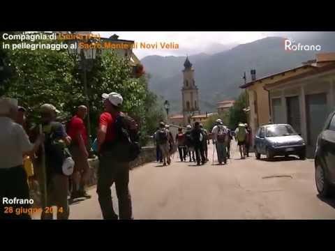 Compagnia di Lauria in pellegrinaggio al Sacro Monte di Novi Velia