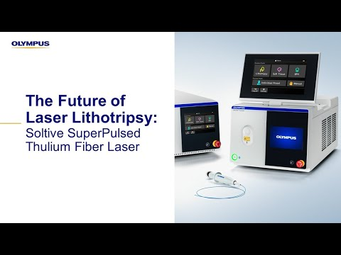 Dr. Bodo Knudsen of Ohio State University's Wexner Medical Center discusses how the Soltive SuperPulsed Laser System is the next innovation in endourology, representing a huge leap forward in laser technology with the potential to significantly improve procedural outcomes.