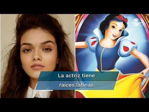 Rachel Zegler interpretará a Blanca Nieves en la nueva cinta live-action de Disney