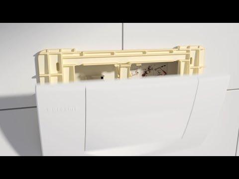 Geberit Twinline30 anstelle von 200F Spül-Stopp-Spülung - Installation