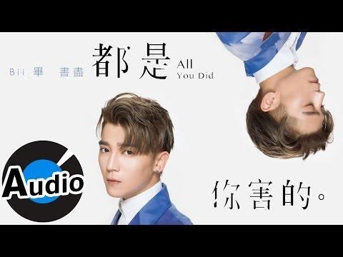 畢書盡 Bii - 都是你害的 All You Did (官方歌詞版) - 華劇「我的極品男友」片尾曲