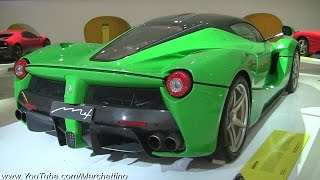 The Coolest LaFerrari EVER?! Jamiroquai's GREEN Ferrari
