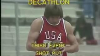 Bruce Jenner the Decathlon Winner
