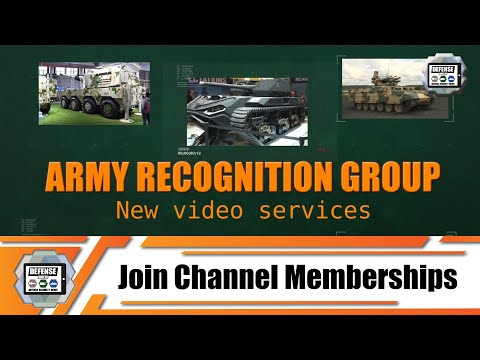 Join Army Recognition Web TV membership with exclusive videos series training military equipment