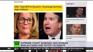 'Soap opera' takes over US news as Kavanaugh drama continues