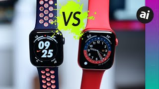 Should You Buy the Nike or Standard Apple Watch Series 6!? Compared!