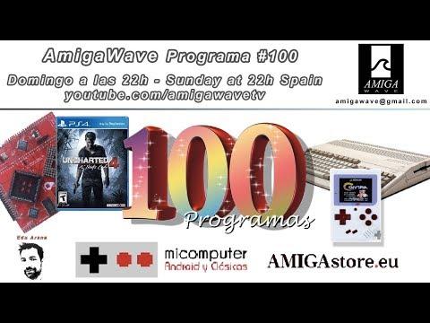 Programa #100 - Celebración de 100 programas AmigaWave, concursos y sorteos.