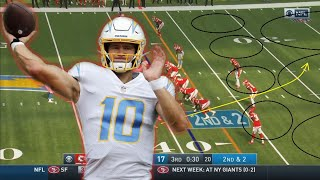 Film Study: I WAS WRONG: Justin Herbert was GREAT in his first start for the Los Angeles Chargers