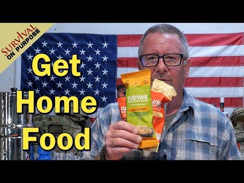 Nutrient Survival Food For A Get Home Bag - Urban Survival
