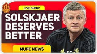 Solskjaer Injustice! Sancho Transfer Delay? Man Utd Transfer News
