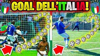 🇮🇹RICREIAMO I MIGLIORI GOL DELL' ITALIA! 🤩