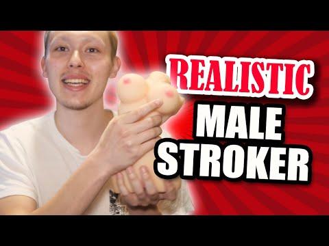 Realistic Male Stroker | Adam & Eve Ride Me Roxxxy Stroker Kit | Male Masturbator Stroker