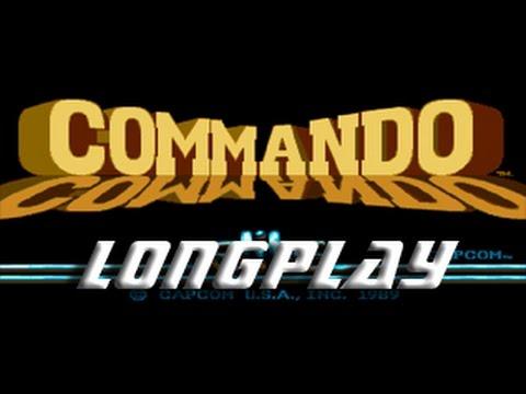 Commando (Amiga) Longplay