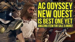 Assassin's Creed Odyssey DLC New Quest Is Amazing, Great Item For Sale & More (AC Odyssey DLC)