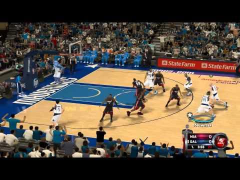 Dirk Nowitzki Nba 2k11 Shot Dirk Nowitzki Monster Shot on