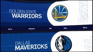 Golden State Warriors vs Dallas Mavericks Game Recap   1/13/19   NBA