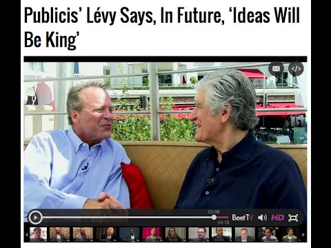 Maurice Lévy, Chairman & CEO of Publicis Groupe, on Beet.TV