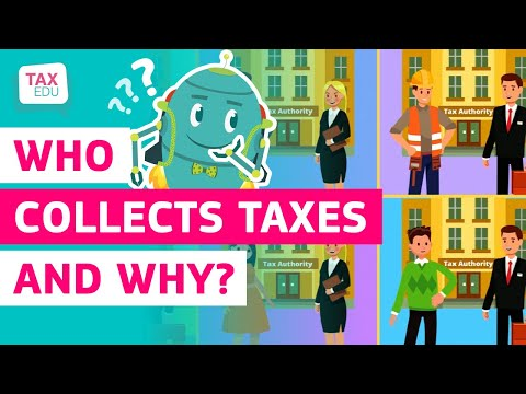 Who collects taxes and why? photo