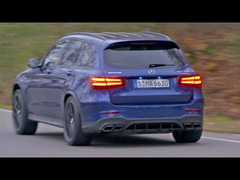 """Mercedes GLC 63 S AMG (2018) Best rival of the Macan Turbo"""""""