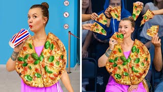 10 Ways to Sneak Fast Food into the Movies!