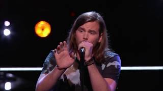 "Blaine Mitchell׃ ""Hold Back the River"" The Voice  Knockout"