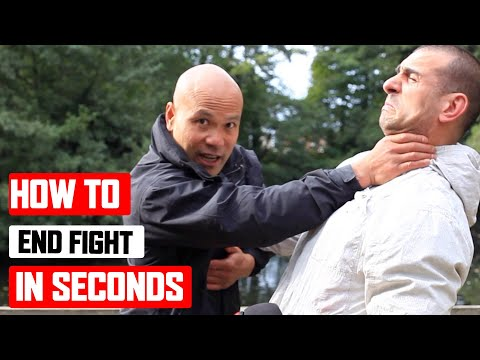 How to end fight in seconds Lesson 1 ✅ Wing Chun Basic and Simple