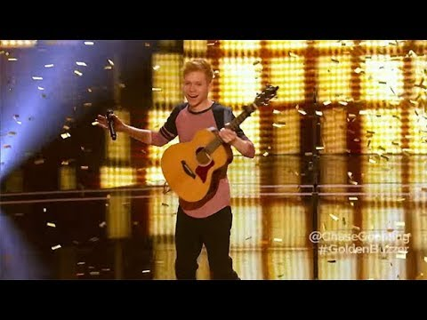 The Next Ed Sheeran - ALL Performances The Best Singer America's Got Talent 2017