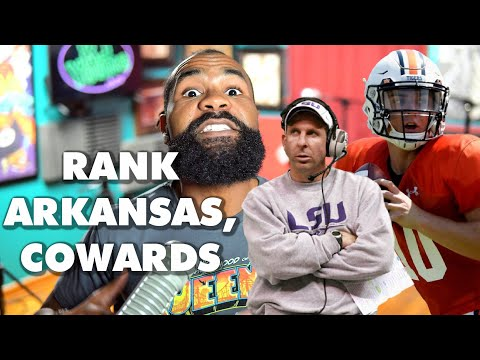 Feleipe Franks & Arkansas is good; Bo Pelini & No. 17 LSU is really bad; No. 13 Auburn is a lie