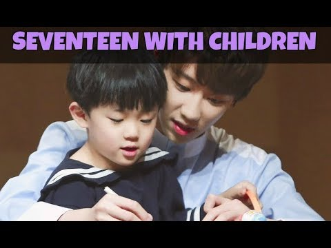 💛 Seventeen With Children Compilation 💛