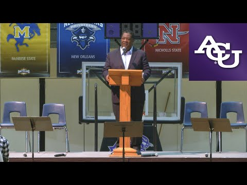 ACU Chapel with Jerry Taylor; March 21, 2016