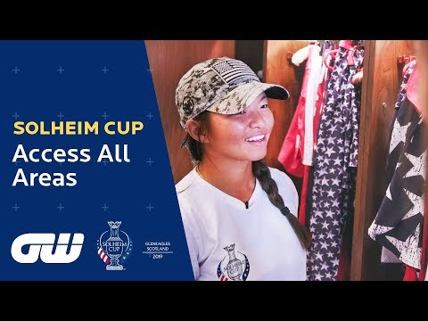 The Players Arrive at Gleneagles! | Solheim Cup 2019: Access All Areas | Golfing World