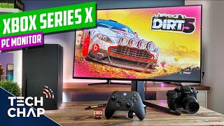 Xbox Series X on a PC Monitor TESTED! [1440p, 4K, 120hz, HDMI 2.1] | The Tech Chap