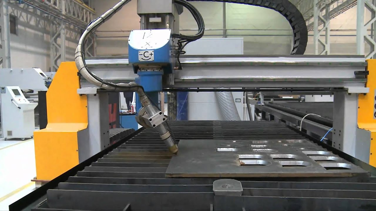 5 Axis Plasma With Hypertherm Wmv Youtube