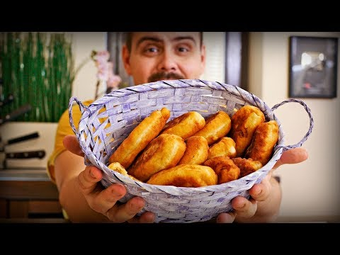 Мои любимые жареные пирожки с капустой | Почти бабушкин рецепт