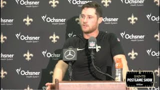 Saints PostGame Show | Wil Lutz & Drew Brees react to Saints def. Texans 30-28 - Week 1 NFL