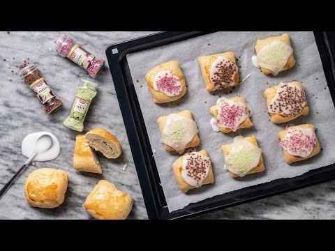 Gl.dags fastelavnsboller med økologisk kagecreme og glasur   Kreahjørnet