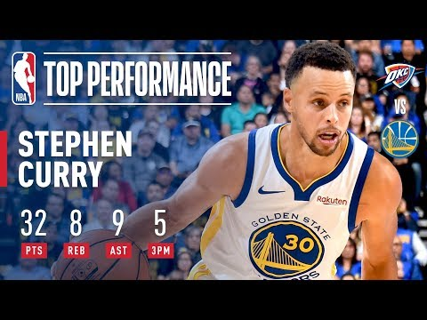 Stephen Curry Leads All Scorers With 32 Points In Victory Over OKC | 2018-2019 NBA Opening Night
