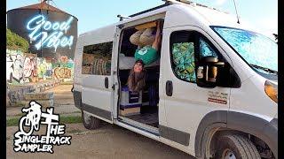 DIY Van Build Hacks for my #vanlife // Singletrack Sampler Van Build Ep. 9