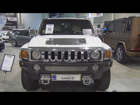 Hummer H3 Tuned Exterior and Interior in 3D