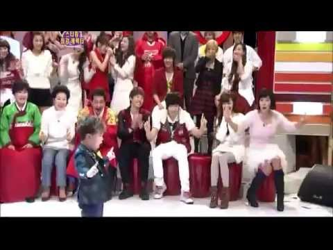 [snsd]Tiffany cute star king min wo dance lucifer shinee