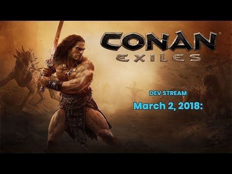 Conan Exiles Dev Stream - Bow Changes, Weapon and Armor Tiers, Creature Combat and Farming