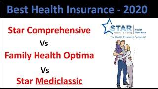 Best Star Health Insurance in Hindi: Star Comprehensive Vs Family Health Optima Vs Mediclassic