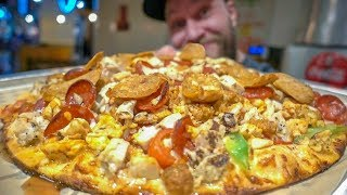 Most Toppings on a Pizza Challenge (World Record?)