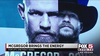 UFC 246 Media Day