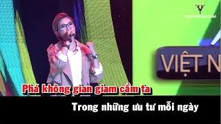 (Karaoke) Việt Nam những chuyến đi - Vicky Nhung
